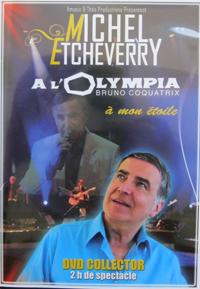 Olympia 2012, dernier DVD de Michel Etcheverry